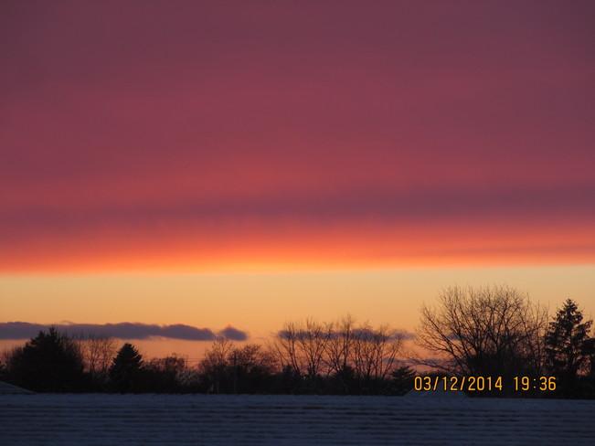 Sunset Aylmer, Ontario Canada