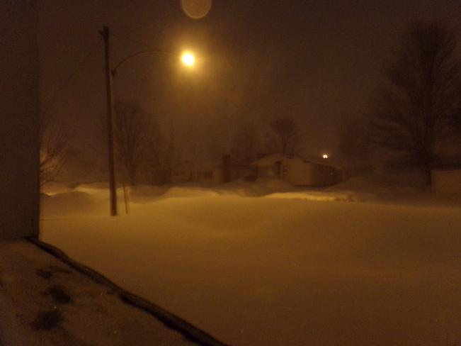 more snow Woodstock, New Brunswick Canada