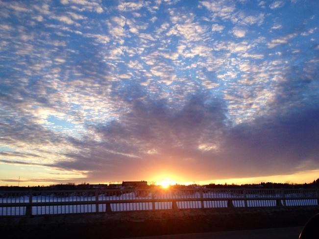 coucher de soleil 🌅 Bathurst, New Brunswick Canada