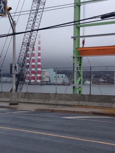 Smoke stacks Halifax, Nova Scotia Canada