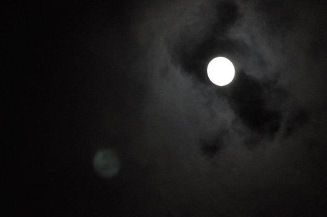 Full Moon in March Erin, Ontario Canada