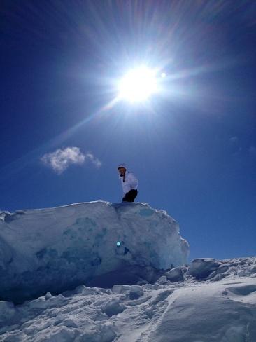 ice caves Wawa, Ontario Canada
