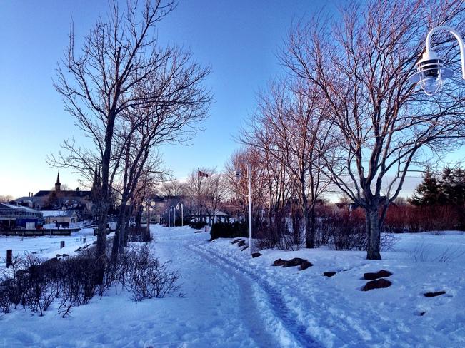 Winter Charlottetown, Prince Edward Island Canada