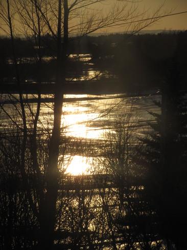 Nearly Sunset Amherst, Nova Scotia Canada