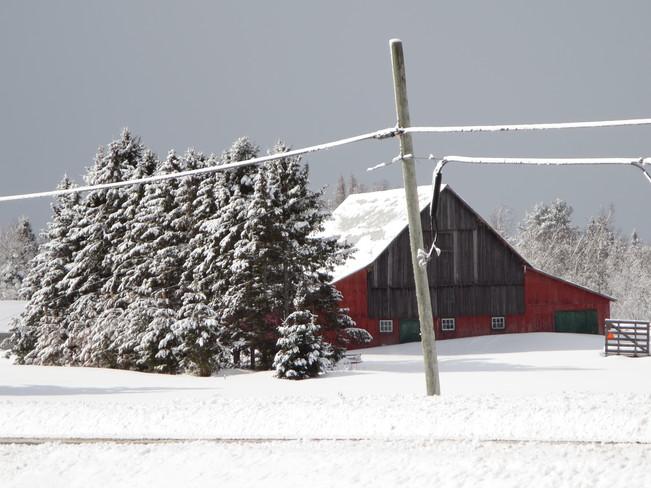 After the snow Noëlville, Ontario Canada
