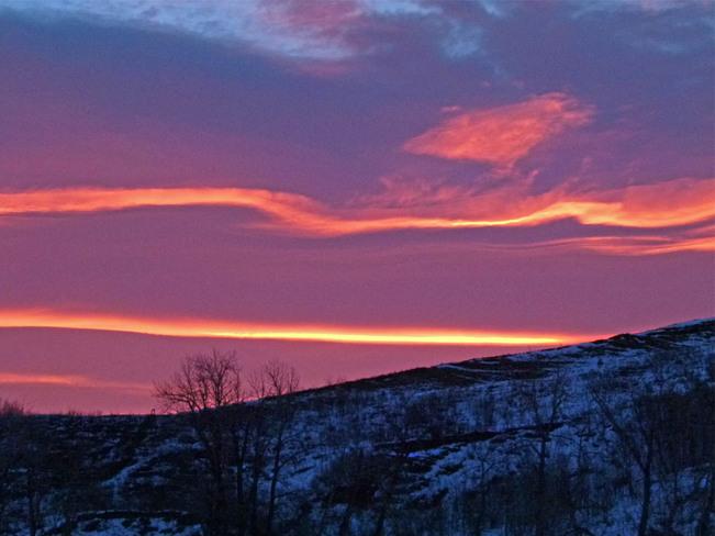 Memorable Sunrise Lethbridge, Alberta Canada