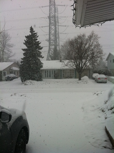 Snow again Ottawa, Ontario Canada