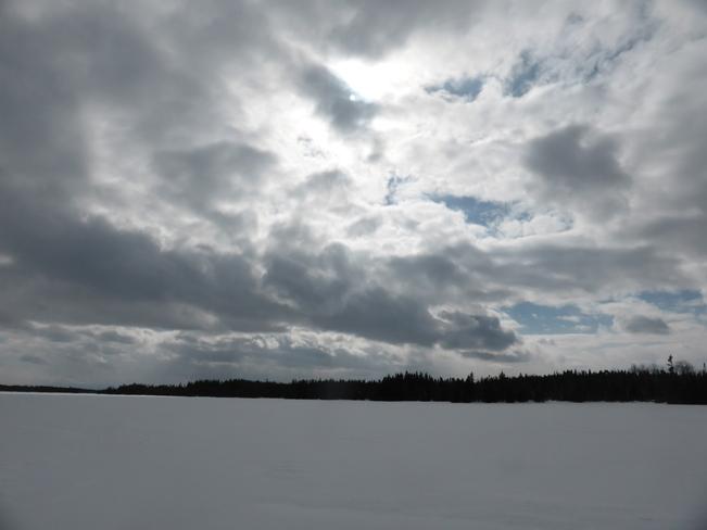 Afternoon Clouds Birchy Bay, Newfoundland and Labrador Canada