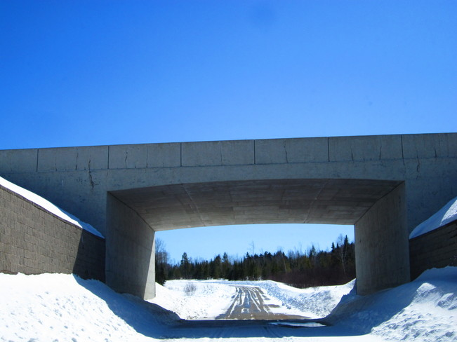 overpass Nackawic, New Brunswick Canada