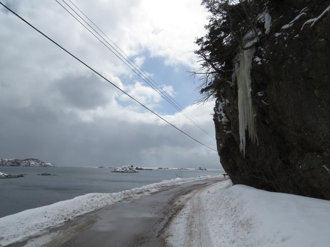 Fine weather clouds Rock Harbour, Newfoundland and Labrador Canada