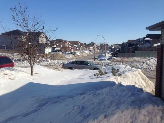 March Snow Pile Winnipeg Winnipeg, Manitoba Canada
