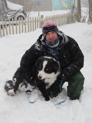 Me and my best friend Socks Halifax, Nova Scotia Canada
