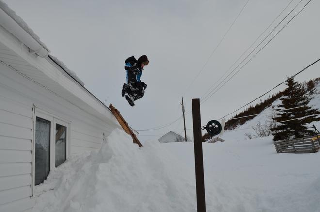 Fun After the Storm Forteau, Newfoundland and Labrador Canada