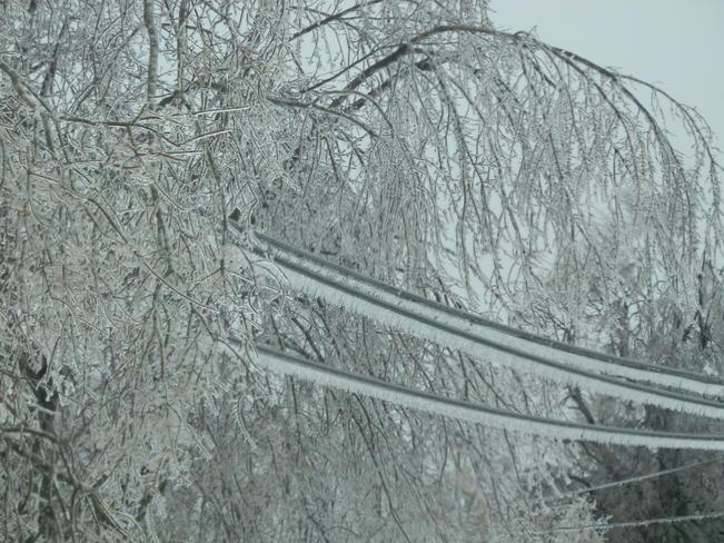 Ice Shediac Bridge, New Brunswick Canada