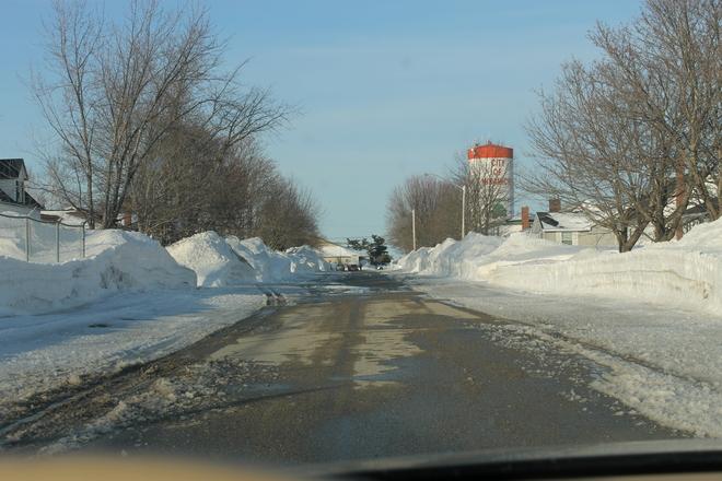 can it be piled higher ? Miramichi, New Brunswick Canada