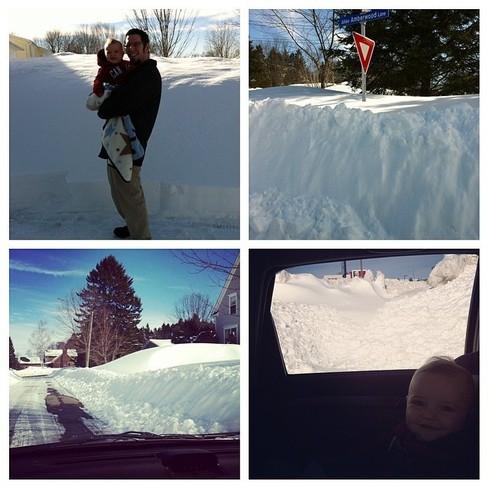 April Fools Snow Fredericton, New Brunswick Canada