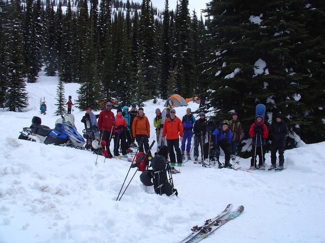 Nelson LVR Outdoor Rec Students Kaslo, British Columbia Canada