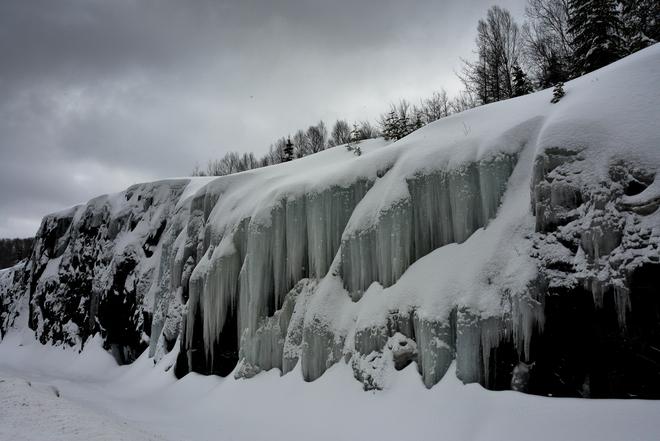 Dripping ice Montréal, Quebec Canada