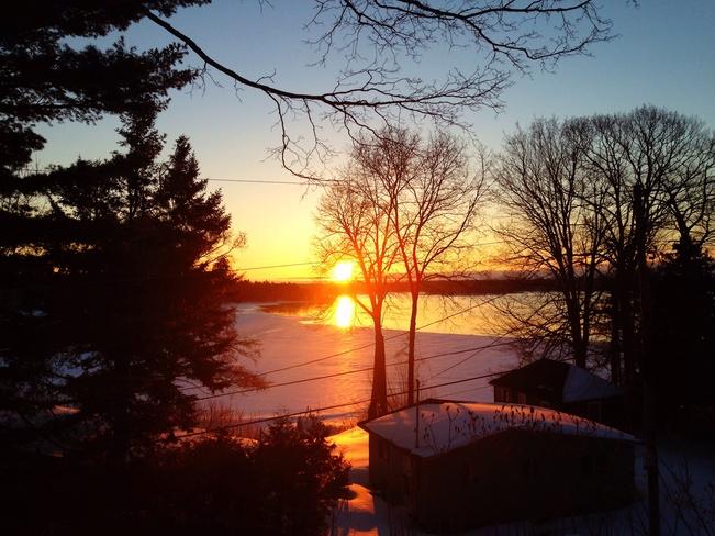 sunrise on the SLR Elizabethtown-Kitley, Ontario Canada
