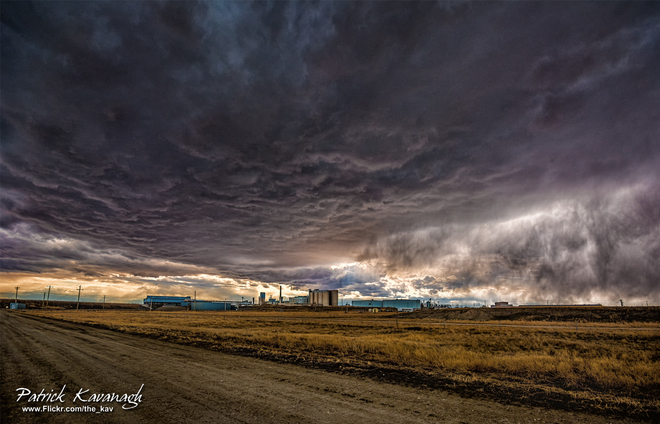 Rogers Sugar in Cloud Taber, Alberta Canada