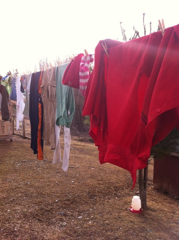 laundry weather Deep Brook, Nova Scotia Canada