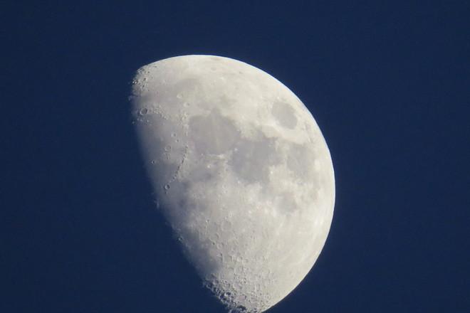 Moon surface Timmins, Ontario Canada