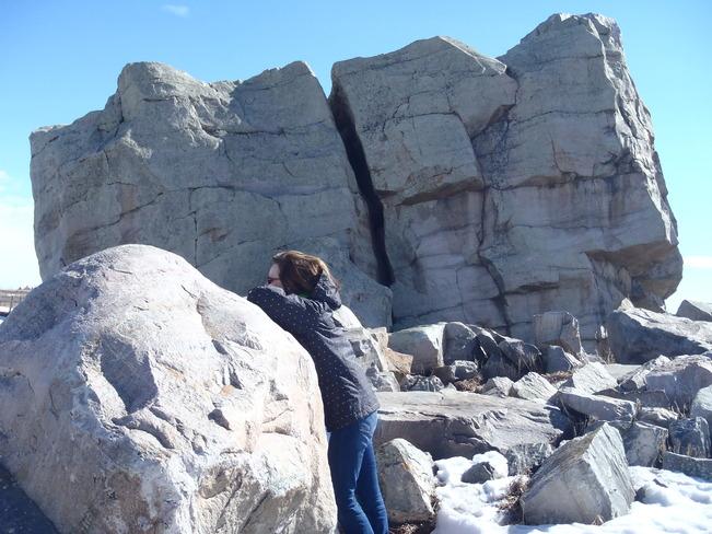Big Rock Okotoks, Alberta Canada