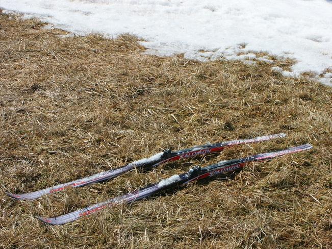 End of the Ski Season Lakefield, Ontario Canada