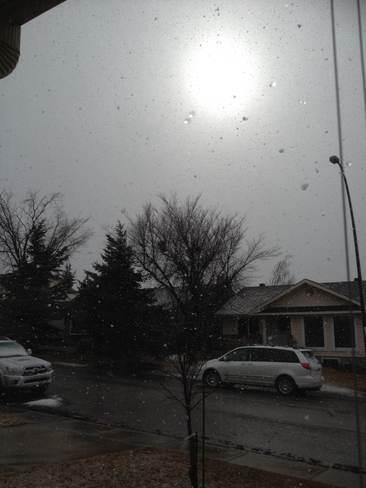 Sunshine and Snow Calgary, Alberta Canada
