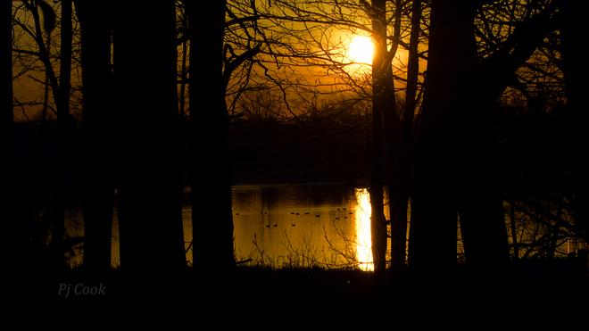 Sunrise on the bay Pickering, Ontario Canada