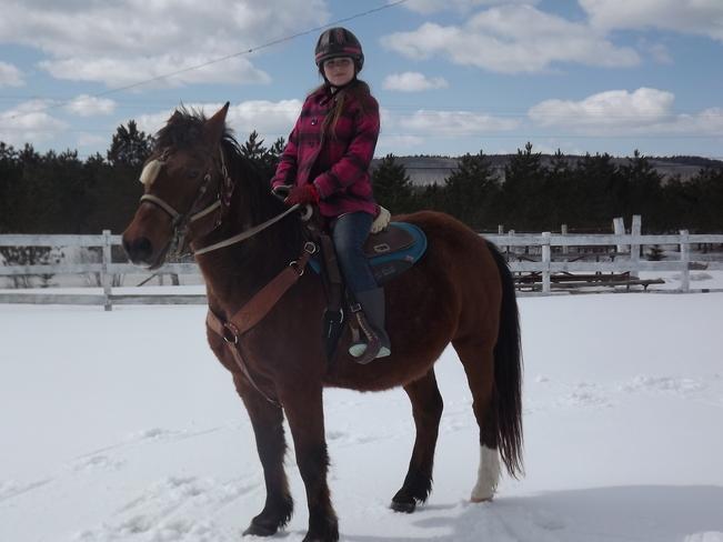 Molly Jarvis with Russ Hampton, New Brunswick Canada