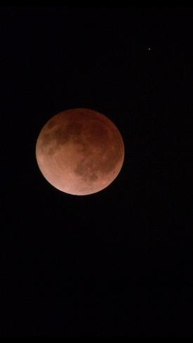Lunar Eclipse Winnipeg, Manitoba Canada