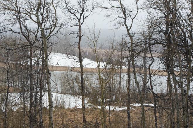 Spring Melt Lethbridge, Alberta Canada