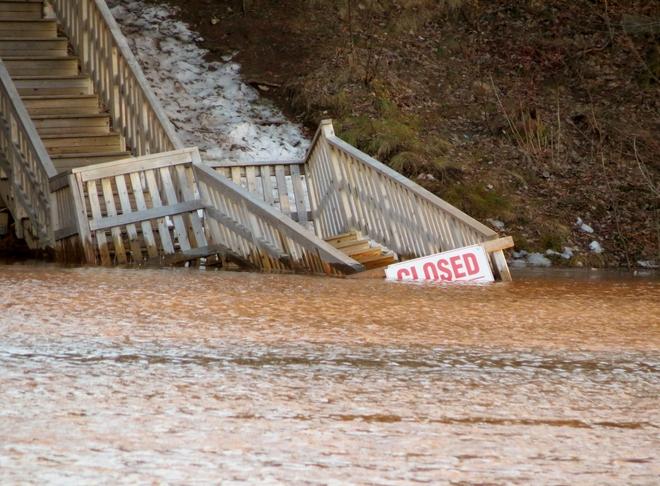 Centennial Park Flood #3 Moncton, New Brunswick Canada