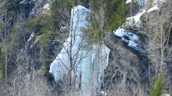 Heavenly Icefalls Espanola, Ontario Canada