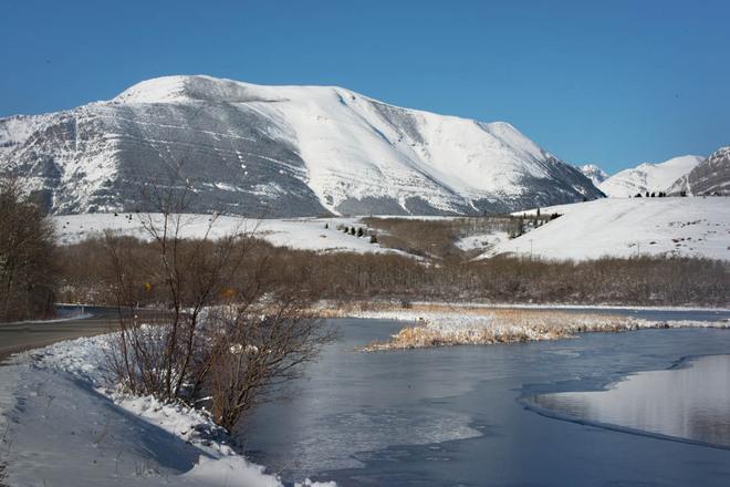 Winter's End at Waterton Lethbridge, Alberta Canada