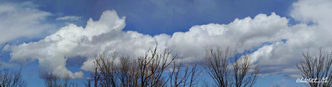 the clouds Calgary, Alberta Canada