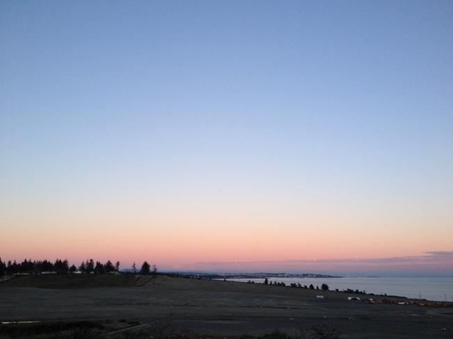 pink skys Victoria, British Columbia Canada