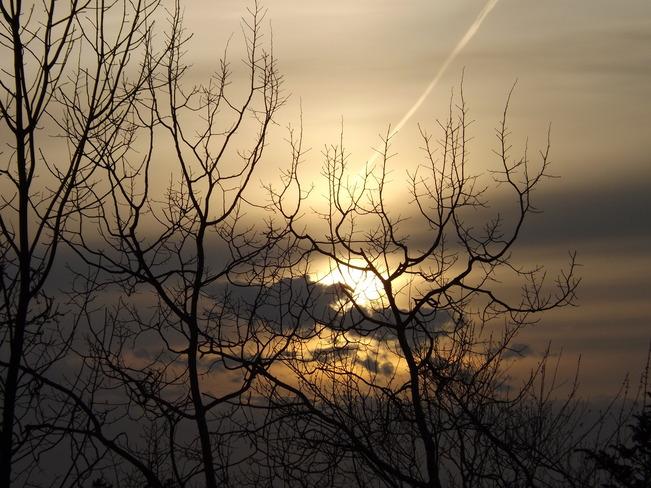 sunset tuesday New Minas, Nova Scotia Canada