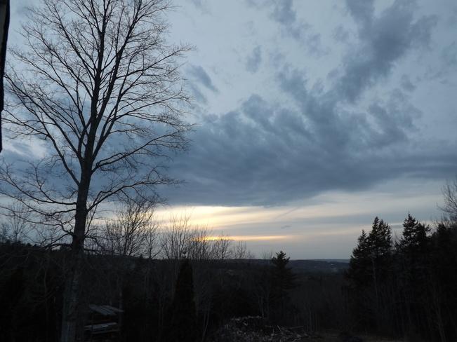 sundown tues New Minas, Nova Scotia Canada