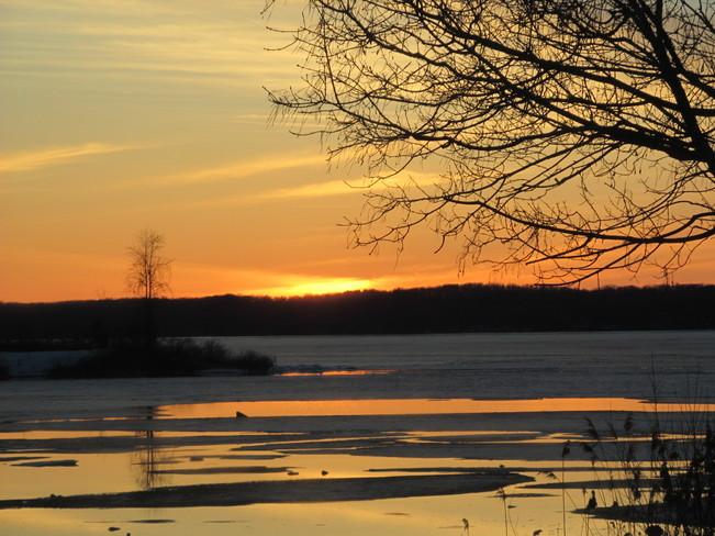 Gorgeous Sunset Port McNicoll, Ontario Canada