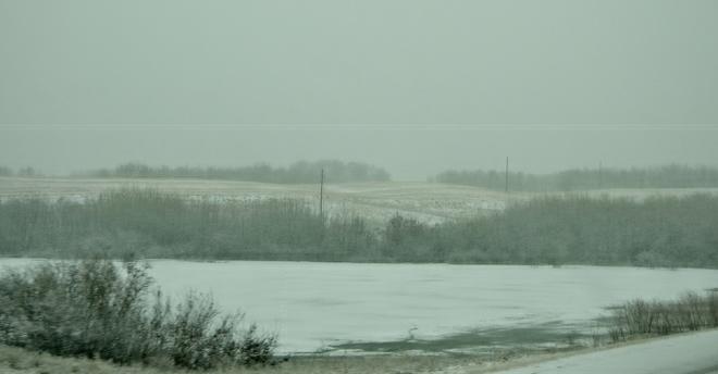 Winter blues Saskatoon, Saskatchewan Canada