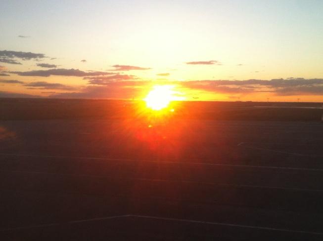 Sunset Leduc, Alberta Canada