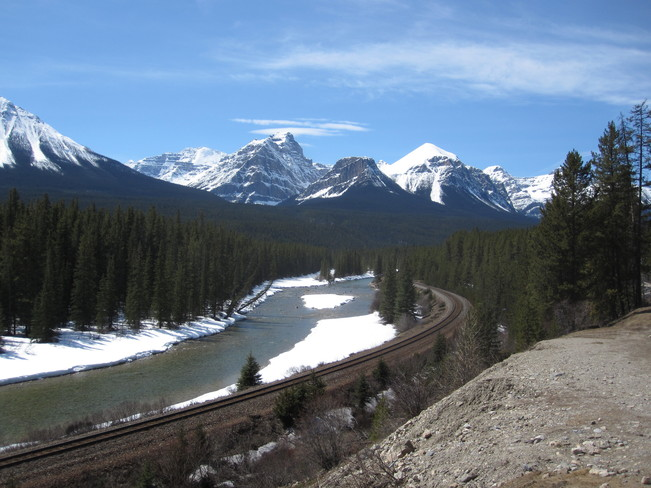 Rocky Mtn Day Canmore, Alberta Canada