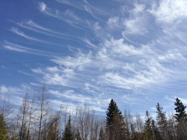 Wispy Clouds Kinmount, Ontario Canada