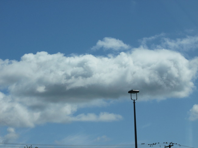 one long cloud... Surrey, British Columbia Canada