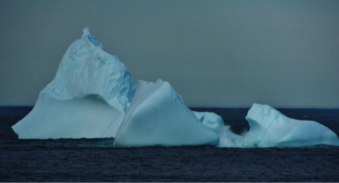 Iceberg near Western Bay St. John's, Newfoundland and Labrador Canada