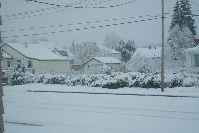 snow again Wawa, Ontario Canada