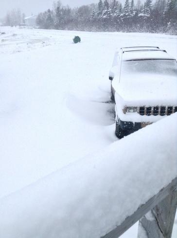 NL Snow Carmanville, Newfoundland and Labrador Canada