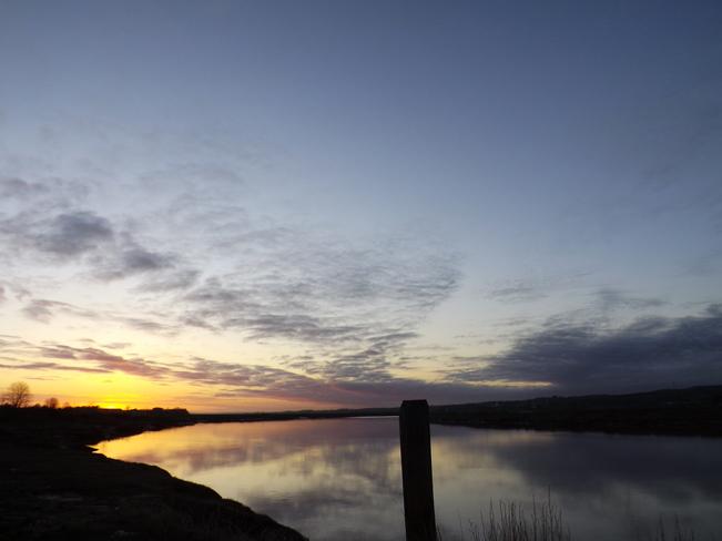sunrise in pw Port Williams, Nova Scotia Canada